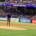 Myles Turner throws out first pitch at Texas Rangers game