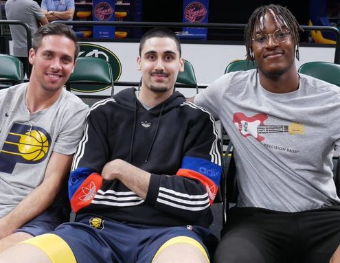Indiana Pacers, Myles Turner, NBA, Goga Bitadze, T.J. McConnell
