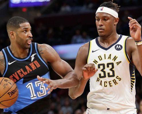 Myles Turner, Pacers, Cavaliers